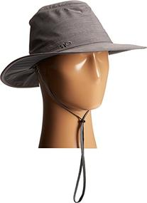 Outdoor Research Olympia Rain Hat, Pewter, Medium
