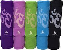 Fit Spirit® OM Exercise Yoga Mat Bag w/ 2 Cargo Pockets -