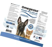 Finest For Pets Omega 3, 6 and 9 Fish Oil for Dogs and Cats