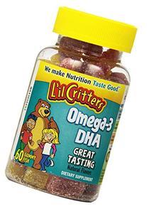 Omega-3 Gummy Fish 60 Gummies Fish Oil