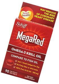 MegaRed Omega 3 Krill Oil - 100% Pure Antarctic Krill Oil -