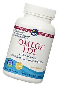 Nordic Naturals Omega LDL, 1000mg, 60 Soft Gels