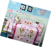 SoHo Once Upon a Garden  Baby Crib Nursery Bedding Set 14