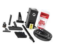 H-P Products 9614 Black All-in-One Central Vacuum System