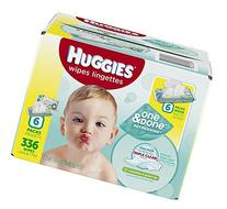 HUGGIES One & Done Refreshing Cucumber & Green Tea Baby Wipe