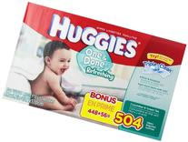 Huggies One and Done Refreshing Baby Wipes,Cucumber & Green