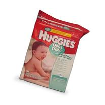 HUGGIES ONE & DONE WIPES RFL 184