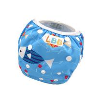 LBB One Size Reuseable Washable Swim Diaper,Fish