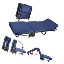 All In one Rollaway Guest Bed Heavy Duty Steel Frame With
