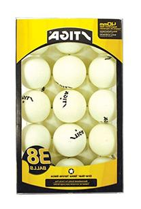 Stiga One-Star White 38-Pack Table Tennis Balls