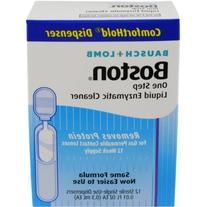 Bausch & Lomb Boston One Step Liquid Enzymatic Cleaner,