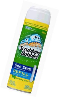 Scrubbing Bubbles One Step Toilet Cleaner Refill, Sparkling