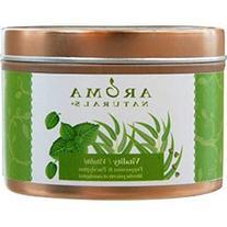 Vitality Aromatherapy 2.5X1.75 Inch Tin Soy Aromatherapy