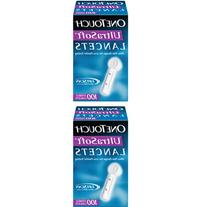 ONE TOUCH ULTRA SOFT LANCETS 100