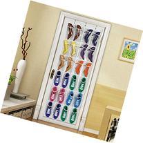 Onepalace Shoe Organiser Storage Bag Hanging Space Saver