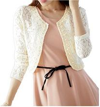 TOP OneWomen's Lace Shrug Bolero Cardigan Party Long Sleeve