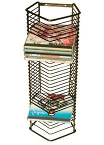 Atlantic Onyx 1209 35 CD Tower Matte Black Steel