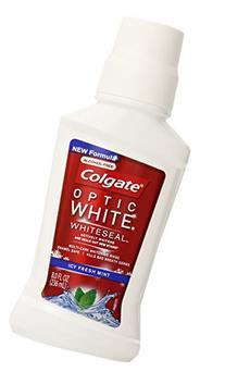 Colgate Optic White Mouthwash, 8 Fluid Ounce
