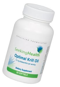 Optimal Krill Oil | 60 Capsules | Burp-Free | Lab Tested For