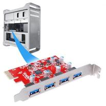 Inateck 4 Ports PCI-E to USB 3.0 Expansion Card for Mac Pro