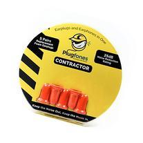 Plugfones Orange Foam Replacement Plugs 5 Pairs
