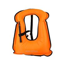 Auto-Vox Adult Inflatable Life Snorkeling Vest Jacket Great