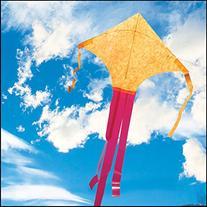 Orange Mylar Dart Kite