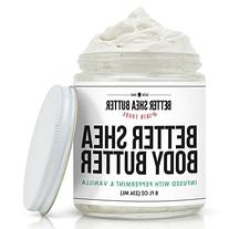 Peppermint Vanilla Body Butter - Scented with Pure Essential