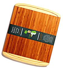 Best ORGANIC Bamboo Cutting Board - FDA Approved for Your