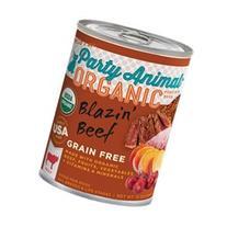 Party Animal Wet Dog Food - Blazin' Beef - 13 oz - 12 pk