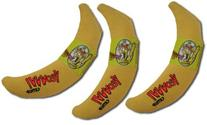 Yeowww! 100% Organic Catnip Toy, Yellow Banana 3 Pack