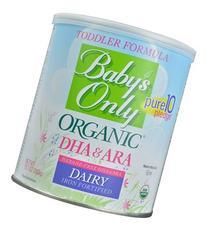 Only Organic DHA & ARA Toddler Formula -- 12.7 oz