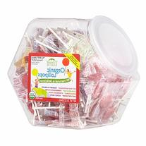 Yummy Earth Organic Fruit Lollipops Bin, 125 Count, 30 oz