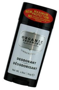 Organic Grooming by Herban Cowboy Men's Natural Deodorant