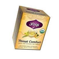 YOGI Organic Honey Throat Comfort Tea 16 BAG