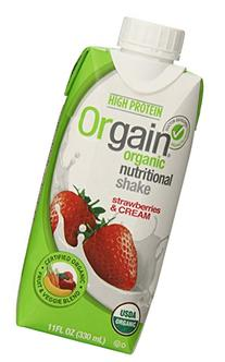 Orgain Organic Nutrition Shake, Strawberries & Cream, 11