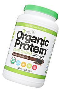 Orgain Organic Plant Based Protein Powder, Creamy Chocolate