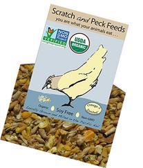 Organic, Soy Free Layer Chicken Feed, 25lbs, Non-GMO Project