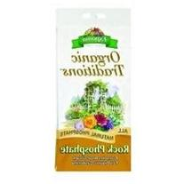 3 PACK ORGANIC TRADITIONS ROCK PHOSPHATE, Size: 7.25 POUND