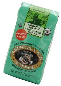 Jeremiah's Pick Coffee Organic Water Processed Dark Roast