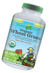 Amazing Grass Organic Wheat Grass tablets (200ct x 1000 mg e