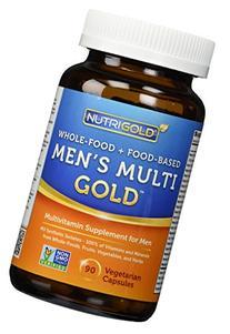 Organic Whole Food Multivitamin - Men's Multi Gold - 90