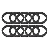 "Origin8 Headset Spacers, 5mm x 1 - 1/8"", Black"
