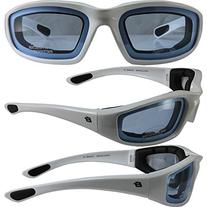 Birdz Eyewear Oriole Padded Motorcycle Riding Sunglasses