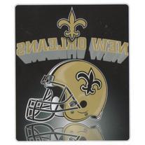 New Orleans Saints Lightweight Fleece Blanket