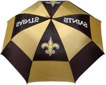 NFL New Orleans Saints 62-Inch Double Canopy Umbrella