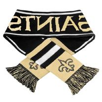 NFL New Orleans Saints Wordmark Scarf, Black