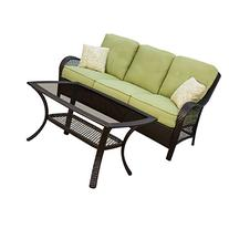 Hanover ORLEANS2PC Orleans 2-Piece Outdoor Lounging Set,
