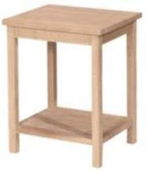 International Concepts OT041 Accent Table, Unfinished
