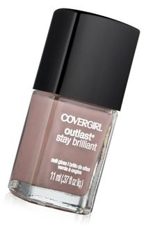 Covergirl Outlast Stay Brilliant Nail Gloss, Smokey Taupe